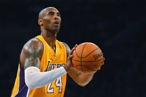 Kobe Bryant is not left handed