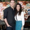 Channing Tatum with wife Jenna Dewan at brunch reunion event