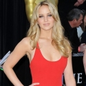 Jennifer Lawrence red dress at Oscars