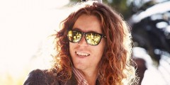 Shaun White looking stylish in his oakleys