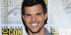 Taylor Lautner at Comic Con 2012